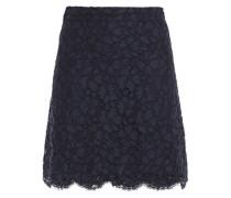Woman Emil Corded Lace Mini Skirt Navy