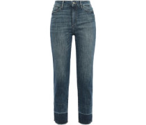 Santori High-rise Straight-leg Jeans Mid Denim  3