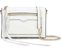 Avery Textured-leather Shoulder Bag White Size --