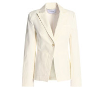 Stretch-cotton gabardine blazer
