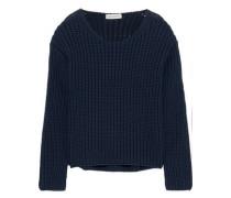 Cotton-blend Sweater Navy