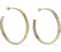 Cannella Gold-tone Hoop Earrings Gold Size --