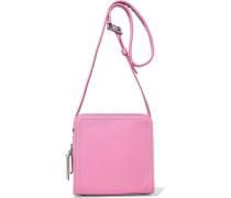 Hudson Square Mini Leather Shoulder Bag Pink Size --
