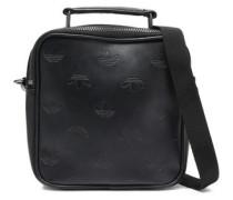 Woman Faux Leather Shoulder Bag Black