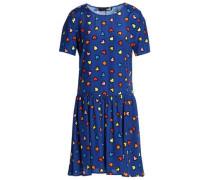 Printed woven mini dress