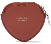 Panama Smooth And Textured-leather Coin Purse Tan Size --