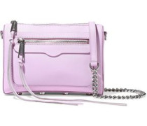 Avery Textured-leather Shoulder Bag Baby Pink Size --