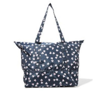 Fairmont Floral-print Shell Tote Navy Size --