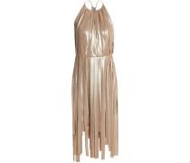 Fringed lamé dress