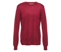 Woman Cashmere Sweater Merlot