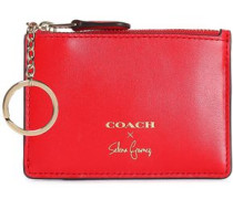 Leather Cardholder Red Size --