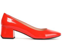 Patent-leather Pumps Tomato Red