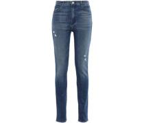 Carolina Super High-rise Skinny Jeans Mid Denim  3