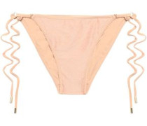 Cairo Printed Low-rise Bikini Briefs Blush