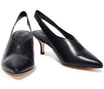 Bala Leather Slingback Pumps Black