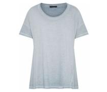 Cotton-jersey T-shirt Gray
