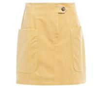 Woman Smita Cotton-corduroy Mini Skirt Mustard