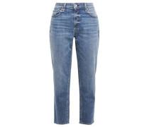 Woman Dre Low-rise Boyfriend Jeans Mid Denim