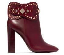 Kingsbridge studded leather ankle boots
