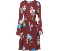Dahari floral-print satin dress