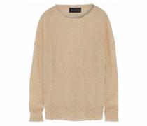 Slub Knitted Sweater Sand