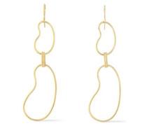 18-karat gold earrings