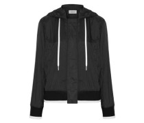 Shell Hooded Jacket Black