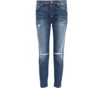 Josefina distressed boyfriend jeans