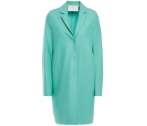 Woman Wool-felt Coat Mint