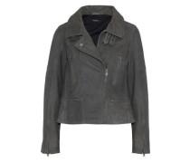 Nuthatch nubuck biker jacket