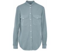 Cotton-twill Shirt Light Blue