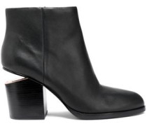 Gabi Leather Ankle Boots Black