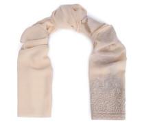Silk-blend georgette scarf