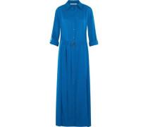 Clarise silk-blend maxi dress