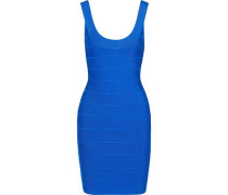 Woman Bandage Mini Dress Bright Blue