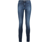 Skin 5 Urban faded mid-rise skinny jeans