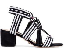 Sandals-Mid Heel