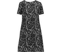 Cotton lace mini dress