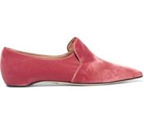 Maude velvet slippers