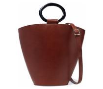 Seberg leather shoulder bag