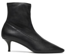 Notte Stretch-leather Sock Boots Black