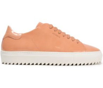 Patent-leather Sneakers Peach