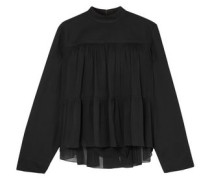 Georgette Blouse Black
