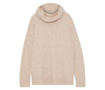 Gunilla Brushed Knitted Turtleneck Sweater Beige