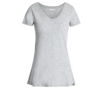 Cotton-jersey Top Gray