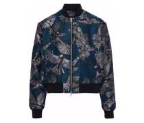 Charlotte jacquard bomber jacket