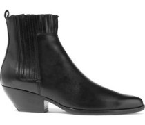 Eckland Leather Ankle Boots Black