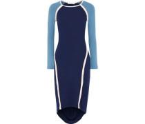 Freje Color-block Stretch-jersey Dress Navy