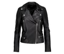 Granger leather biker jacket