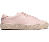 Tennis Leather Sneakers Baby Pink
